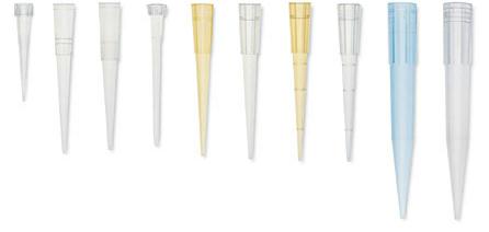 Ρύγχη μικροπιπετών - Tips διαφόρων όγκων, για όλων των ειδών τις μικροπιπέτες