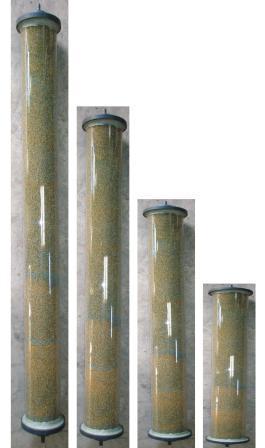 Στήλες παραγωγής απιονισμένου νερόύ